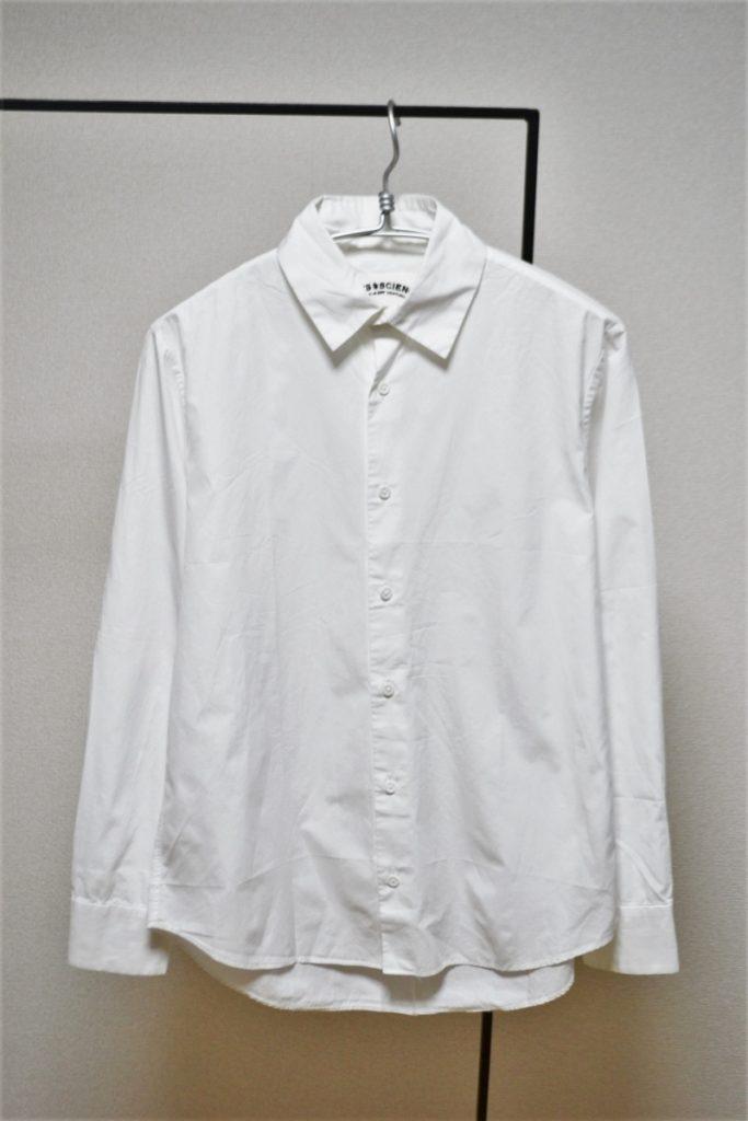 コットンブロード レギュラーカラーシャツ