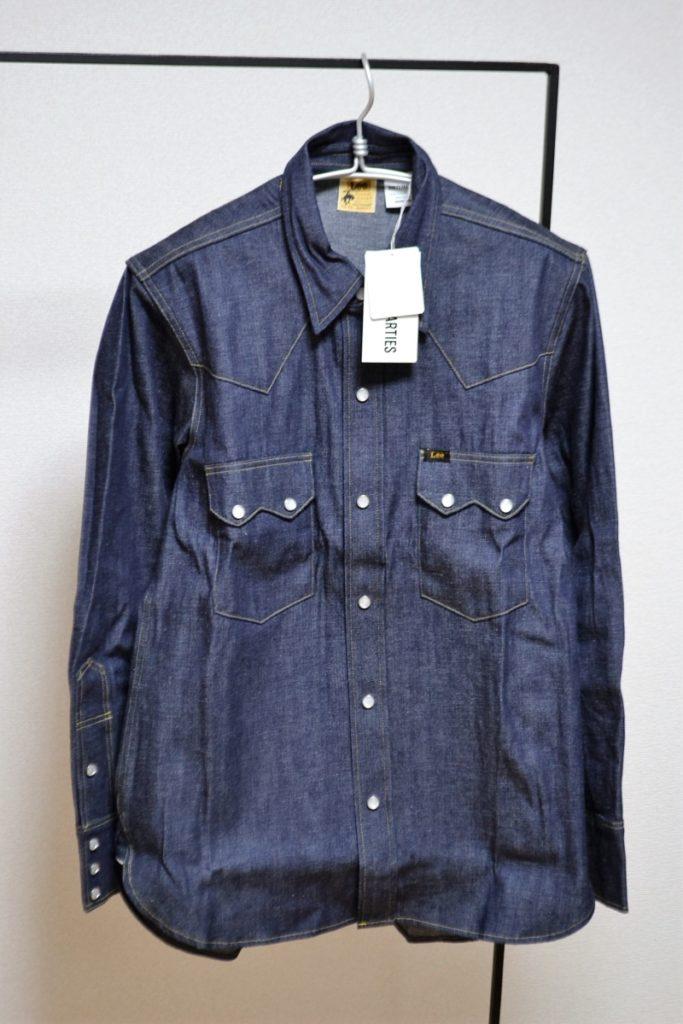 × リー WACKOMARIA × LEE / 50'S RIDERS SHIRT(TYPE-3) ライダースシャツ デニムウエスタンシャツ