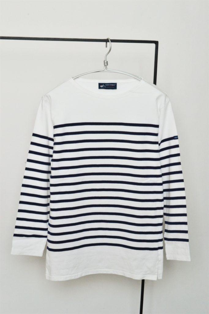 NAVAL ナヴァル パネルボーダーバスクシャツ