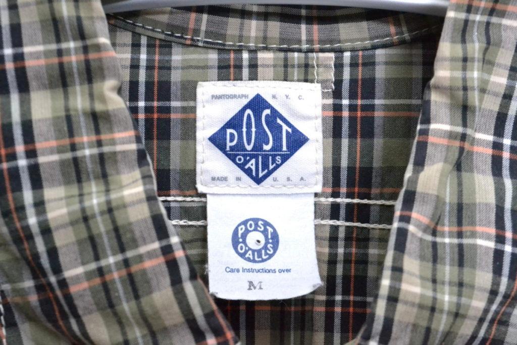 チェック 山ポケ ワークシャツの買取実績画像