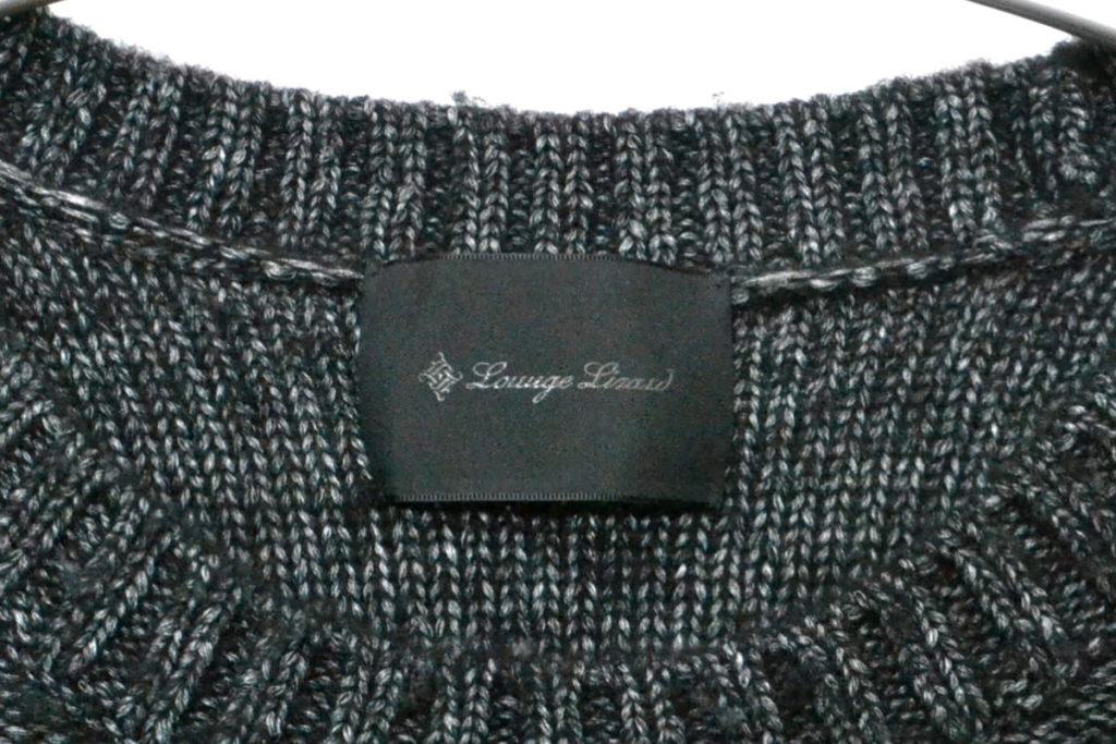 ケーブルニット セーターの買取実績画像