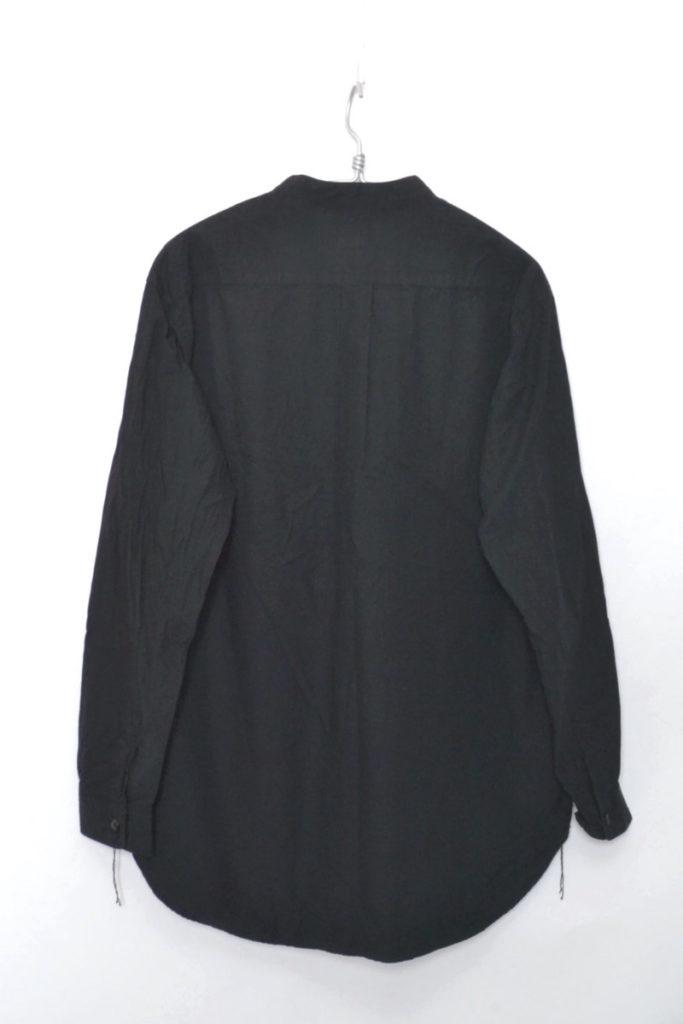 COTTON BROAD BAND COLLAR A-LINE SHIRT コットンブロード バンドカラーシャツの買取実績画像