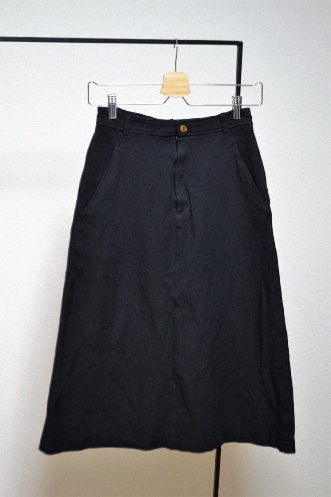 ポリエステル縮絨 スカート