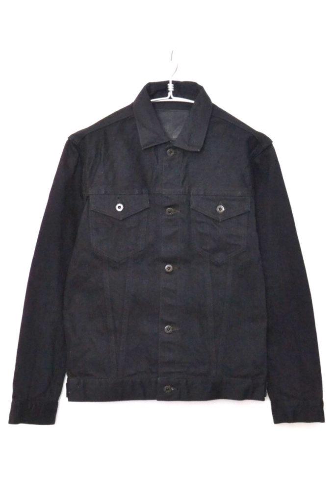 ジーンズジャケット 14oz ブラック x ブラック セルヴィッチ