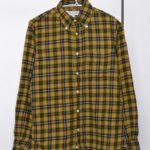 STANDARD FIT/コットン チェック ネルシャツ