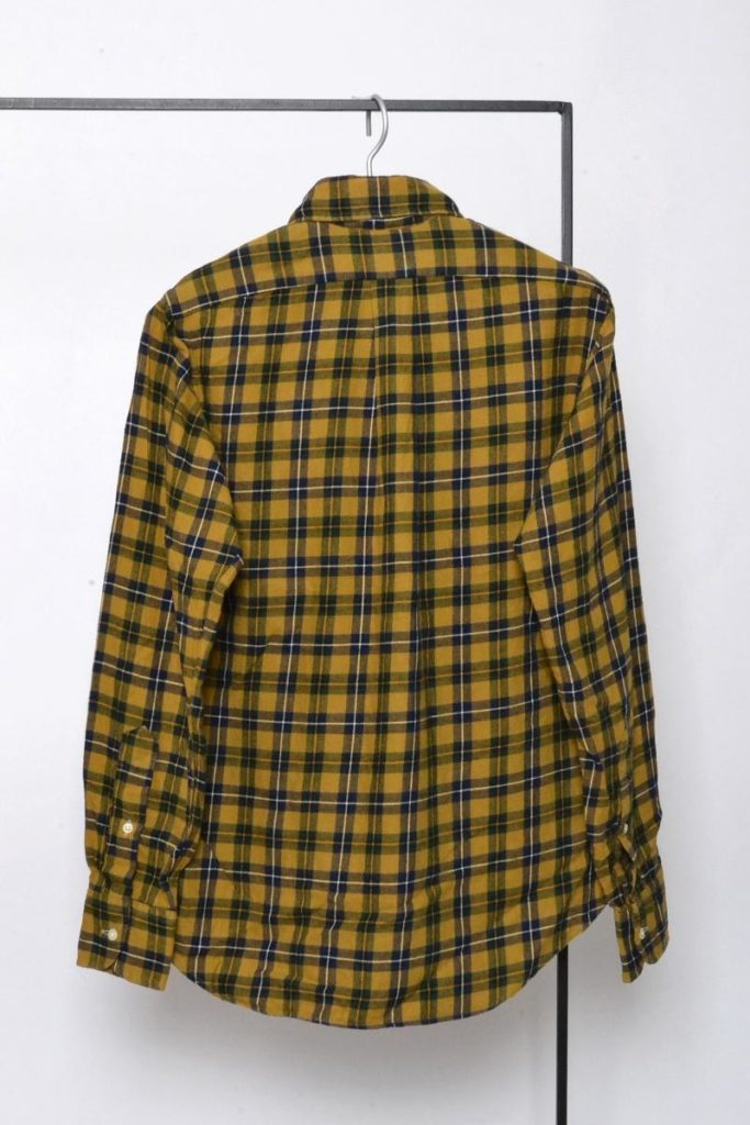 STANDARD FIT/コットン チェック ネルシャツの買取実績画像