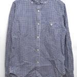 Barista Shirt バリスタシャツ ギンガムチェック