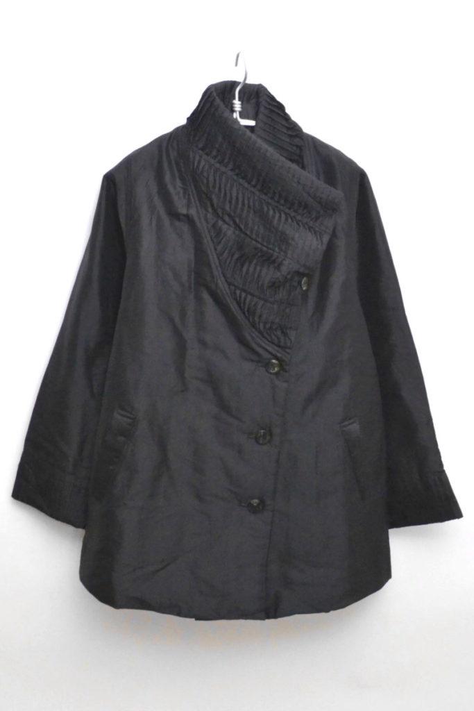 シルク 中綿 コート ジャケット