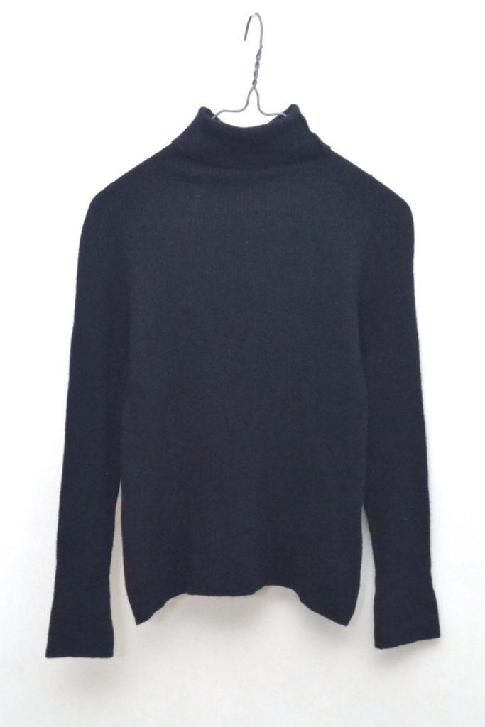 × JOHN SMEDLEY /2015/リブニット タートルネックセーターの買取実績画像