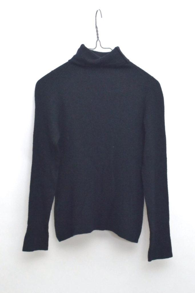 × JOHN SMEDLEY /2015/リブニット タートルネックセーター