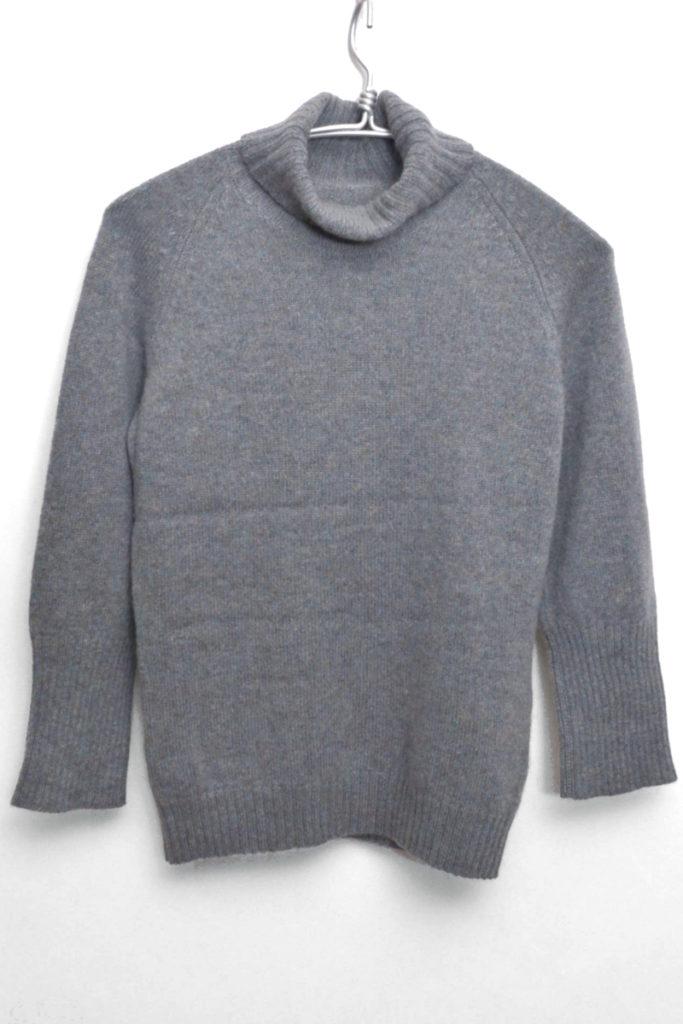 カシミア混紡 タートルネックニット セーター
