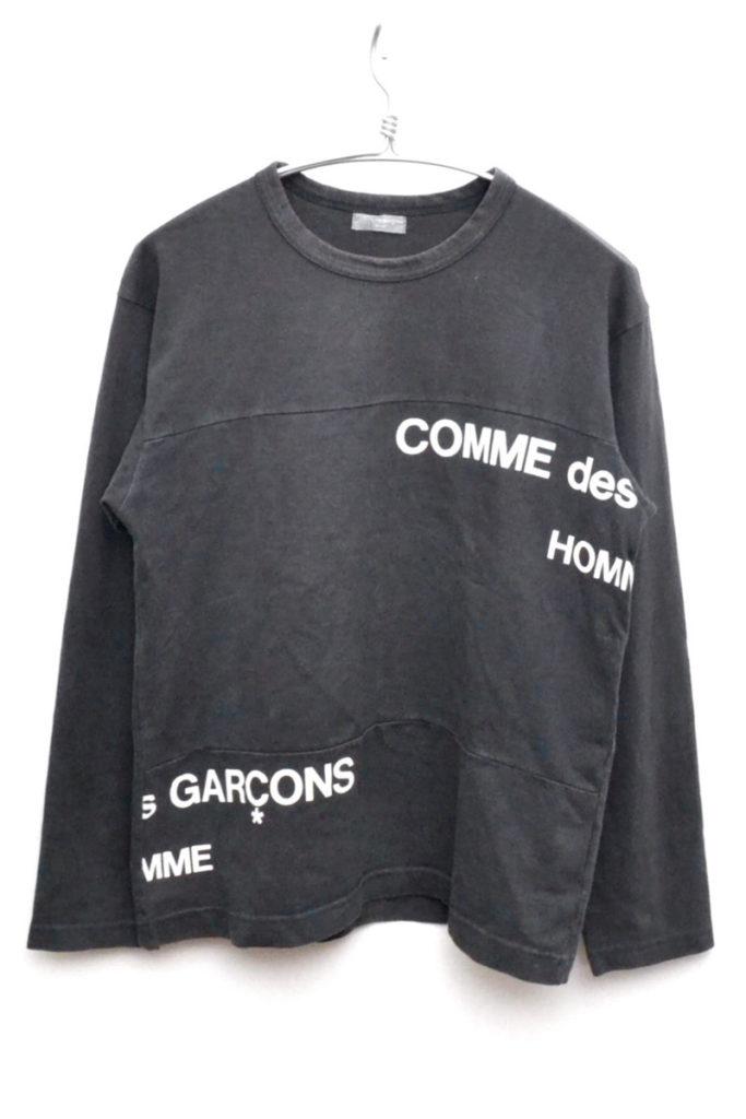 解体再構築 ずらしロゴ カットソー Tシャツ