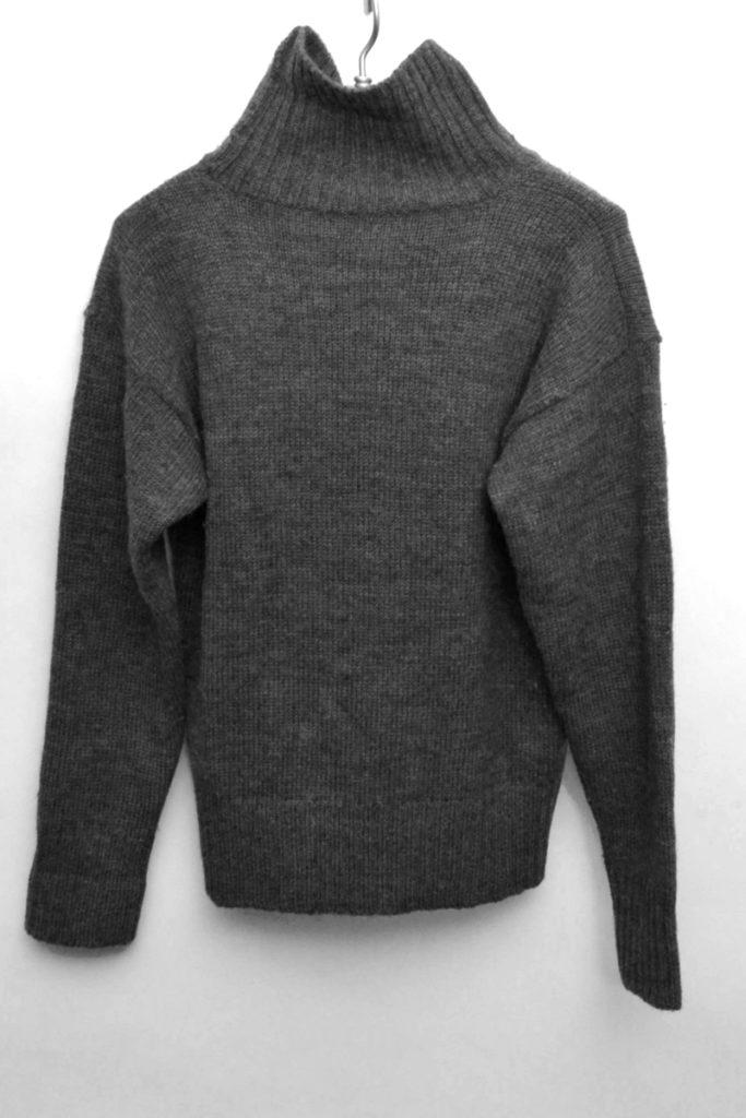 ウール タートルネックニット セーター