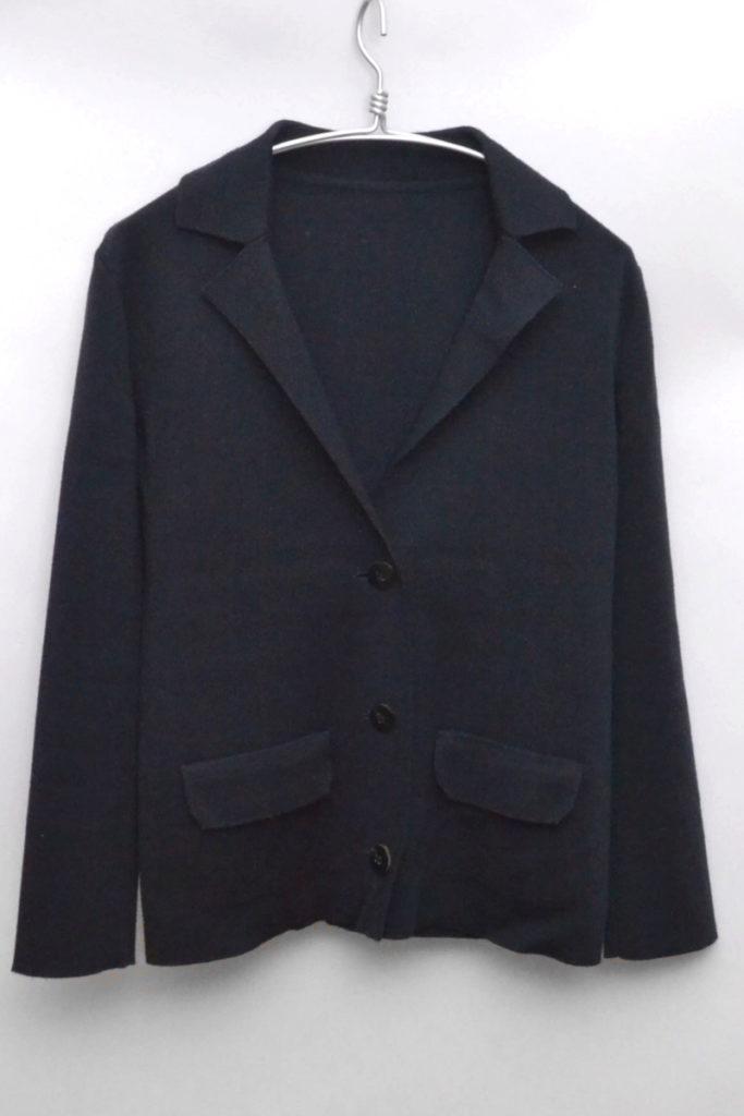 ウール シルク カシミヤ ジャージー素材 ジャケット