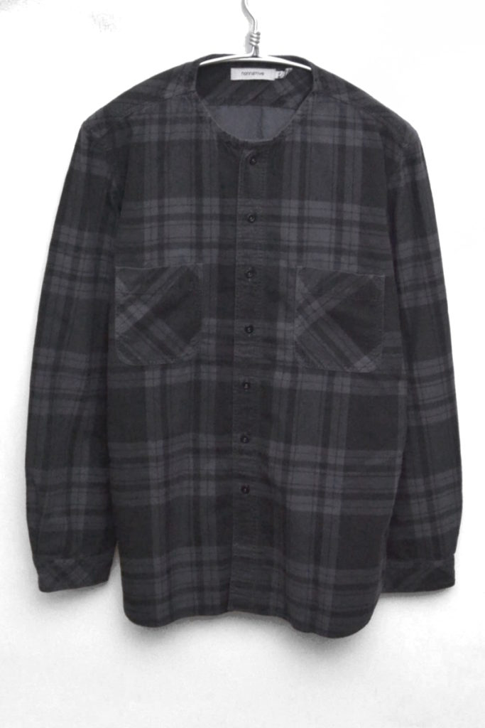 TRAVELER SHIRT COTTON PLAID NEL CHECK OVERDYED トラベラーシャツ ネルシャツ