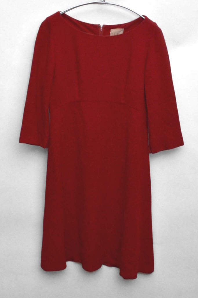 レーヨン ウール ワンピース ドレス