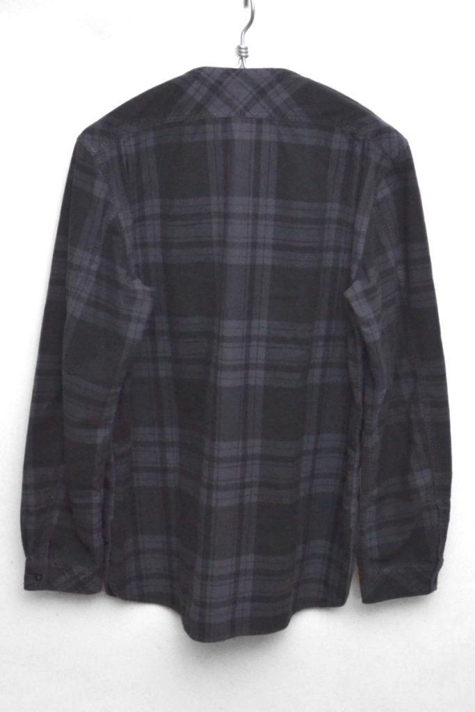 TRAVELER SHIRT COTTON PLAID NEL CHECK OVERDYED トラベラーシャツ ネルシャツの買取実績画像