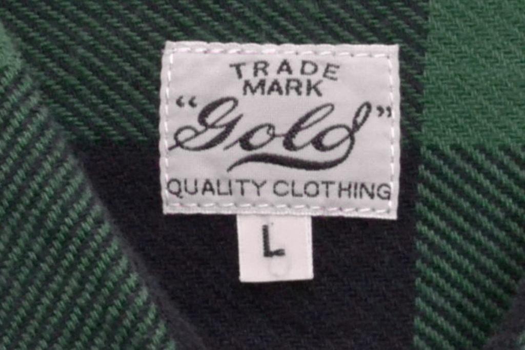 TWILL BLOCK CHECK WORK SHIRT ブロックチェック フランネルワークシャツの買取実績画像