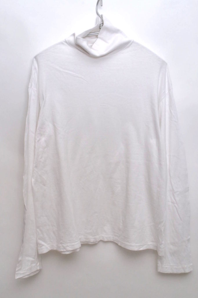 SEAMLESS TURTLE NECK L/S TEE シームレス タートルネックTシャツ カットソー