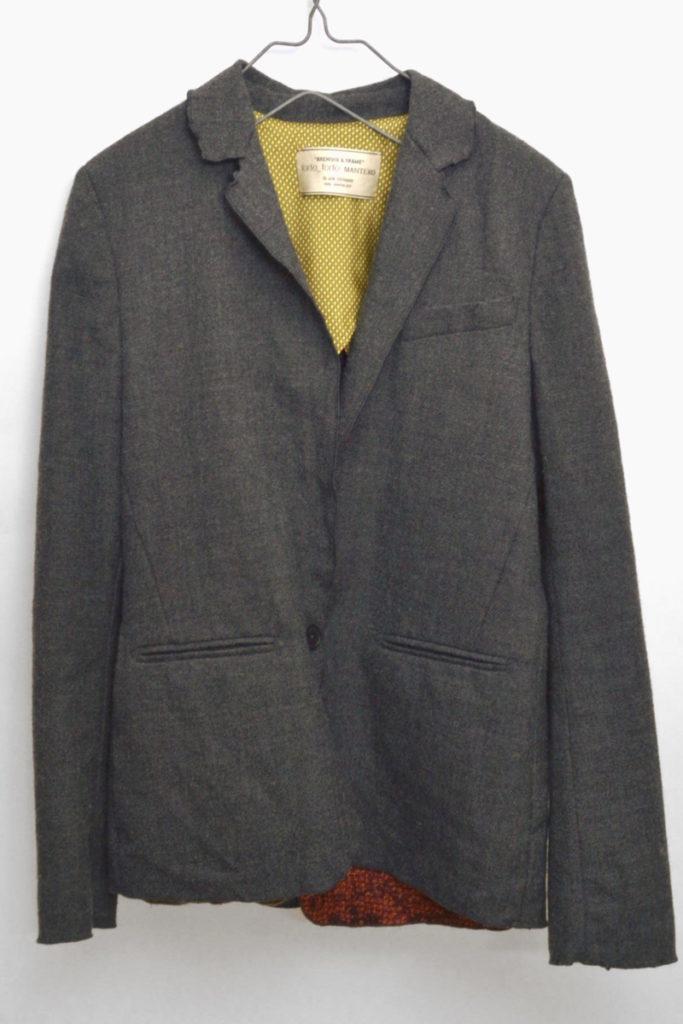 ウールレイヤードジャケット
