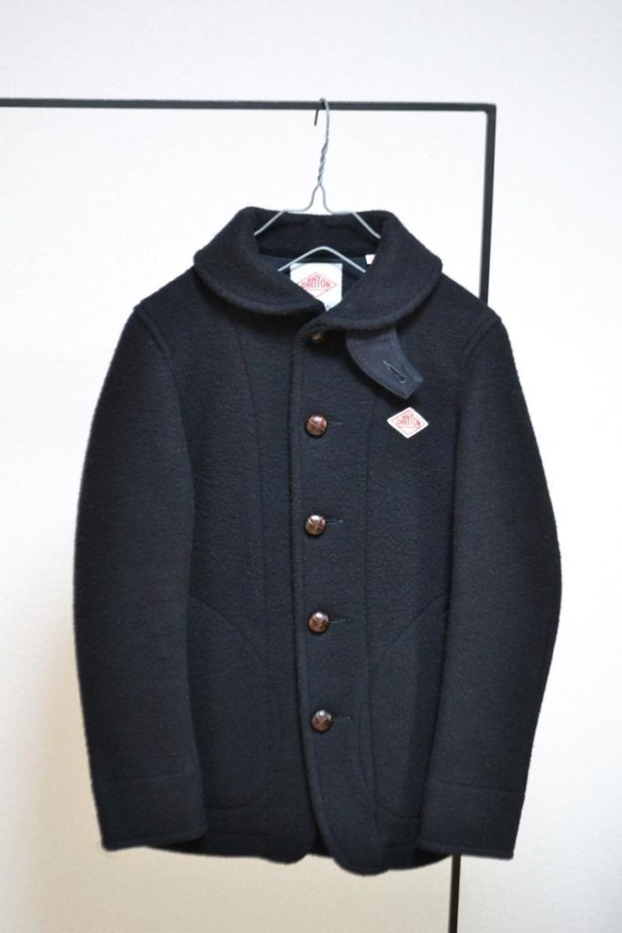 ウールモッサー シングルジャケット