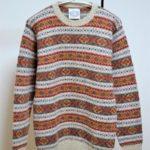 フェアアイル クルーネックニット セーター