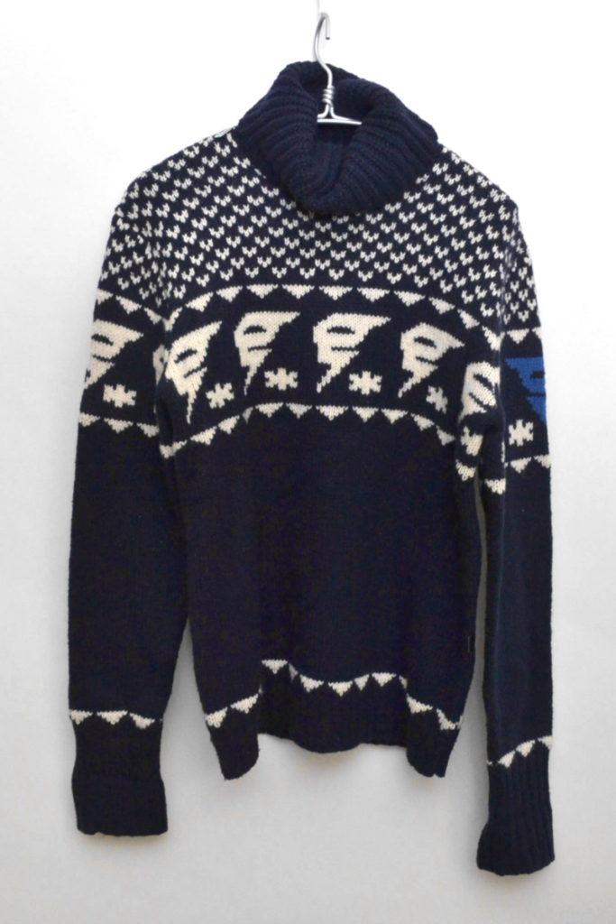 タートルネックニット セーター