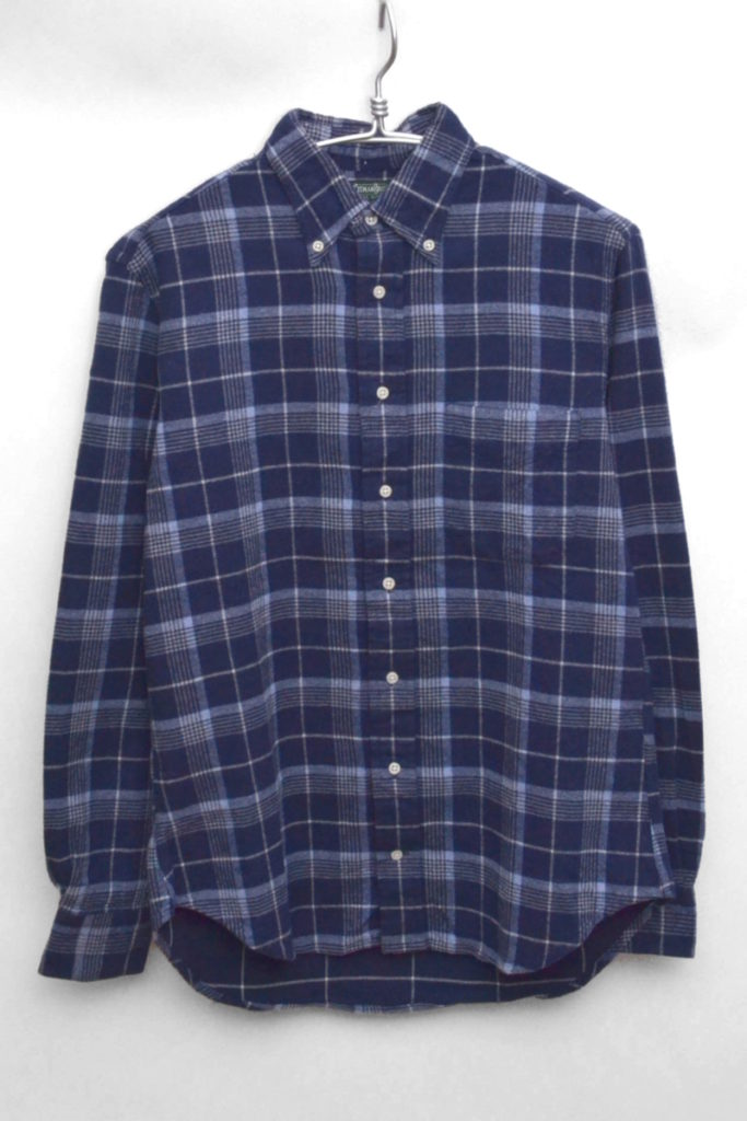 × ナナミカ GITMAN VINTAGE × nanamica / 別注 フランネルBDシャツ