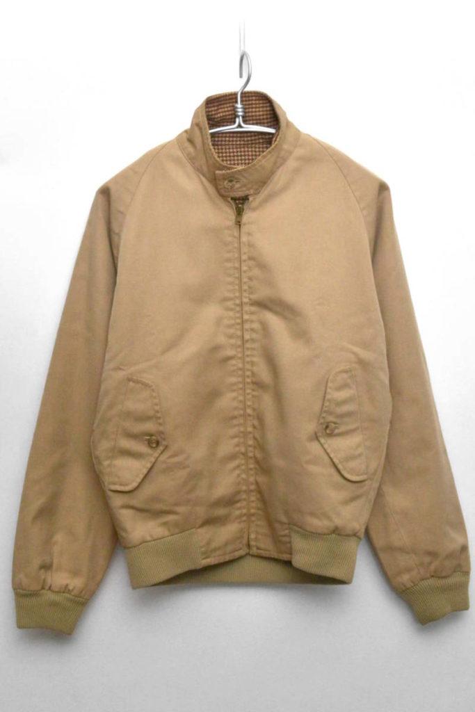 80sヴィンテージ 異素材 リバーシブル スイングトップジャケット
