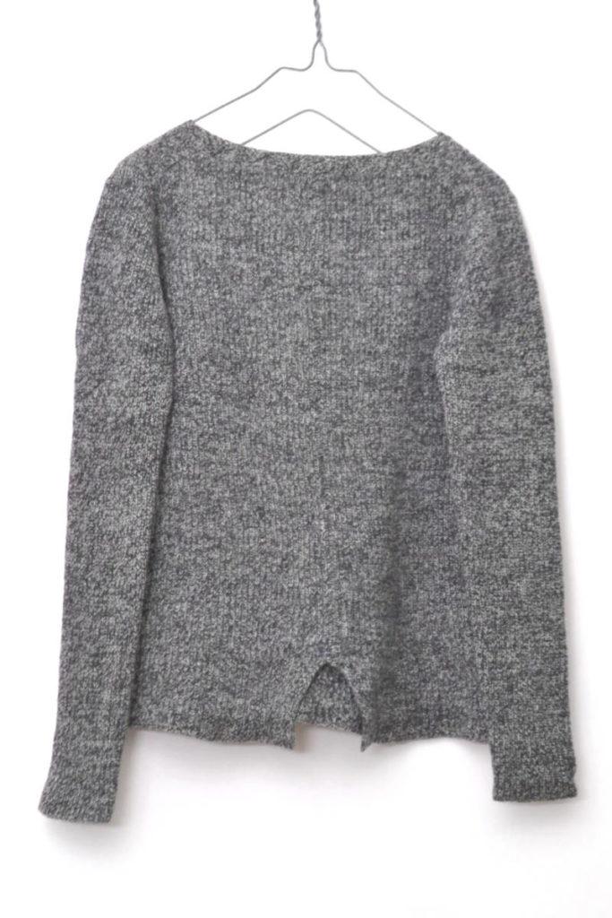 レディース ウール 裾フレア リブニット セーターの買取実績画像
