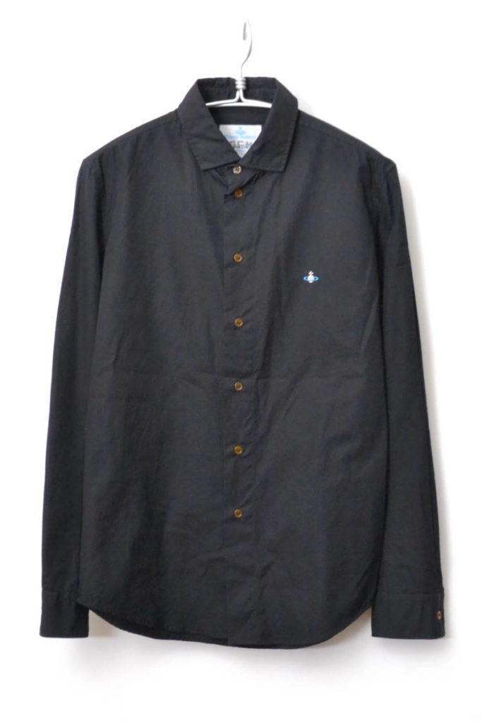オーブ刺繍 コットン 長袖シャツ