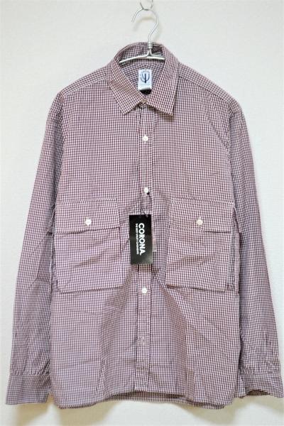 COMBAT HIKER SHIRT ギンガムチェック コンバットハイカーシャツ