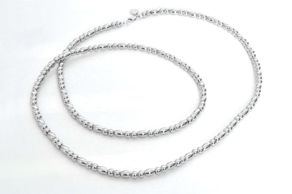 METAL BEADS NECKLACE メタルビーズ ネックレス