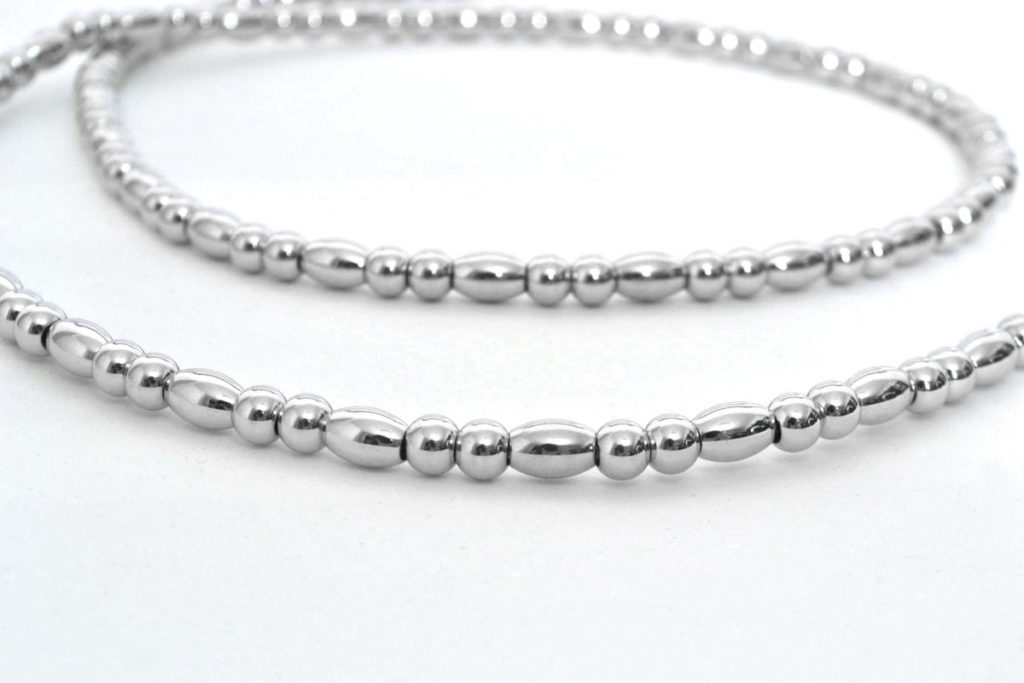 METAL BEADS NECKLACE メタルビーズ ネックレスの買取実績画像