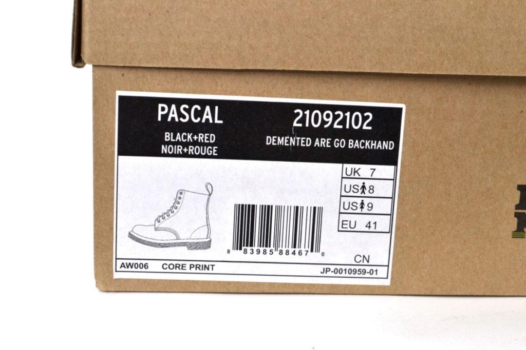 CORE PRINT PASCAL 8 EYE BOOT コアプリント パスカル 8ホールブールの買取実績画像
