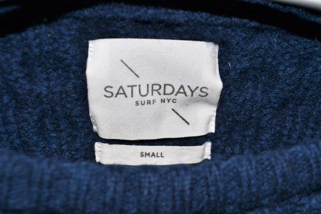 Keith Cable Knit ポケット付き ケーブルニット セーターの買取実績画像