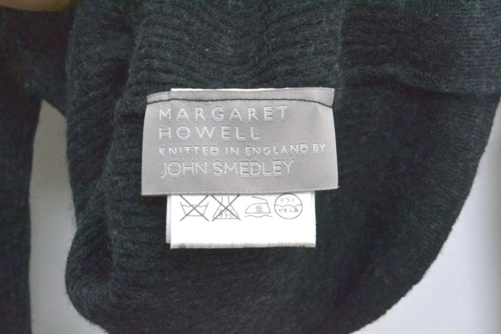 × JOHN SMEDLEY /リブニット タートルネックセーターの買取実績画像