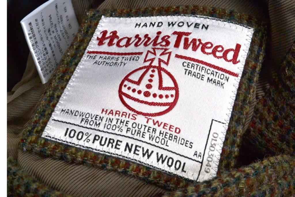 × Harris Tweed / ウールツイード ハンティングベストの買取実績画像