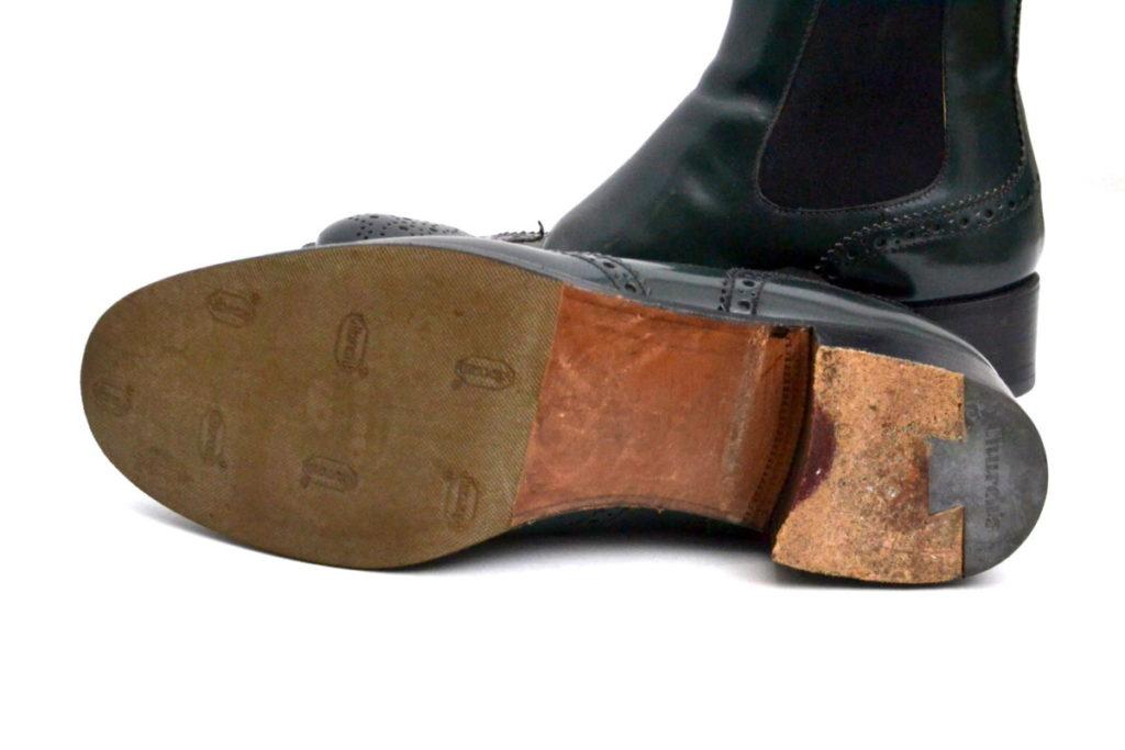 KETSBY ウィングチップ サイドゴア ショートブーツの買取実績画像
