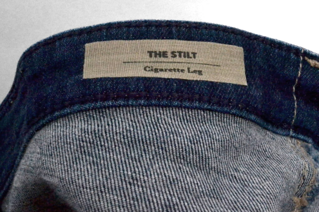 THE STILT Cigarette Leg ストレッチスリムデニムパンツの買取実績画像