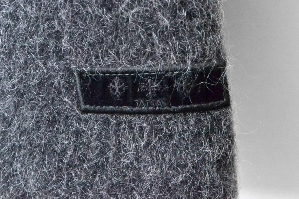 GROLA ウール モヘア混紡 ダウンジャケットの買取実績画像