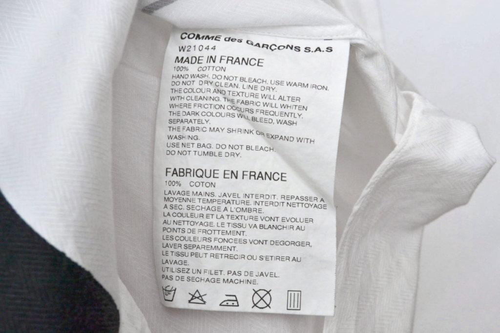 コットンヘリンボーン プリント長袖シャツの買取実績画像