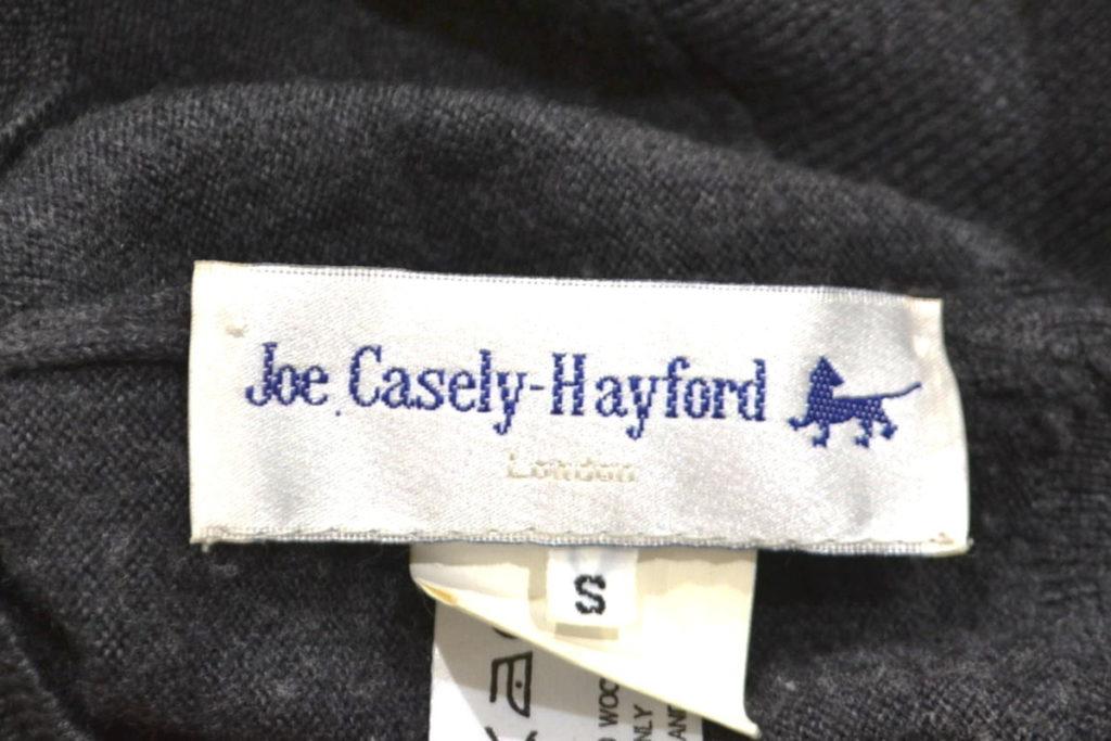ウール変形ニット プルオーバー セーターの買取実績画像