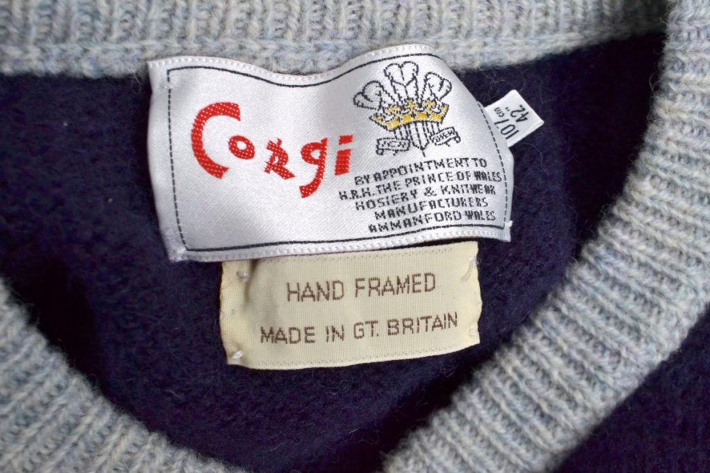 ハンドフレームニット リブ切替セーターの買取実績画像