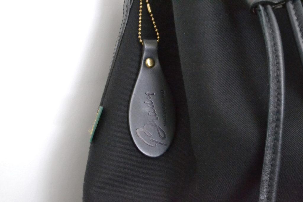 CALDER ツイルワンショルダー巾着バッグの買取実績画像