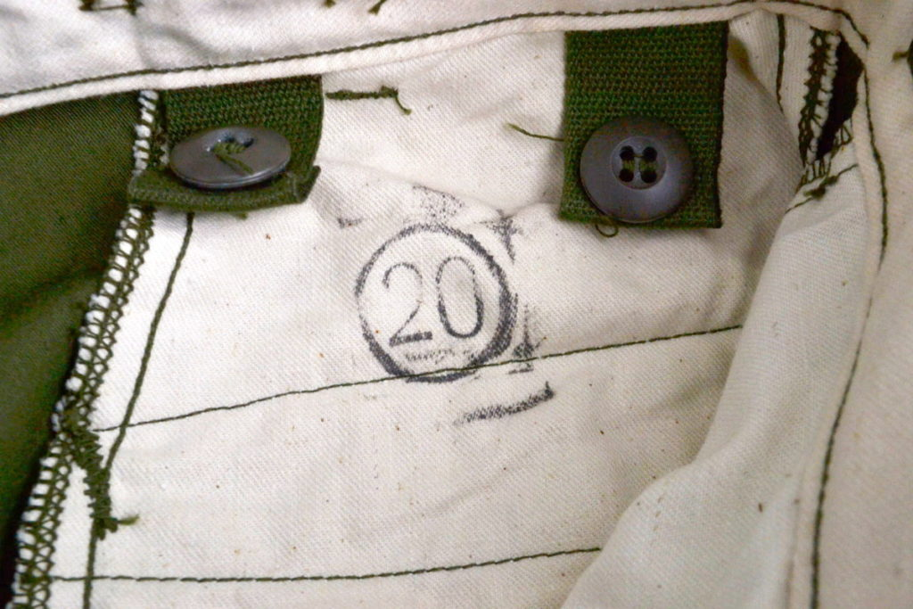 70s ヴィンテージ M-65 ミリタリーカーゴパンツの買取実績画像