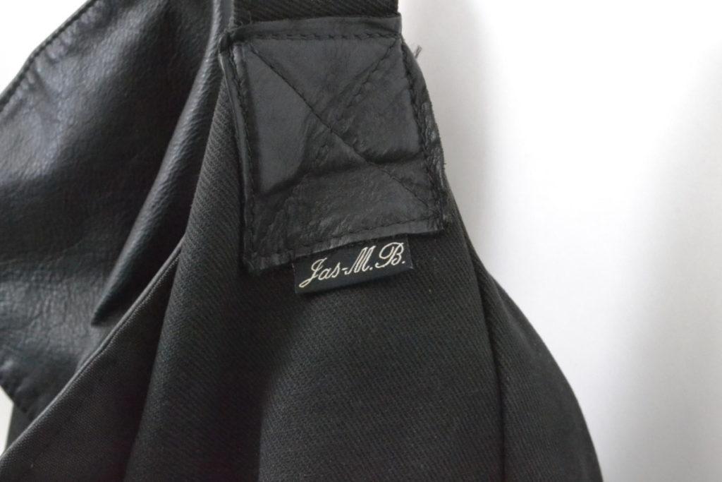 レザーコットンキャンバス切替 メッセンジャーバッグ ショルダーバッグの買取実績画像