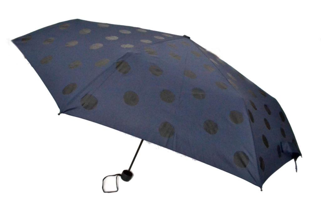 ドット柄 折り畳み傘