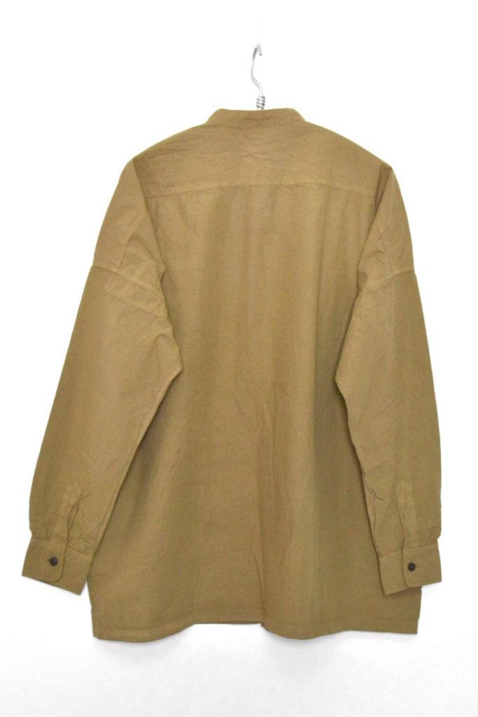 BAND COLLAR WIDE SHIRT COTTON BROAD コットンブロード バンドカラー ワイドシャツの買取実績画像