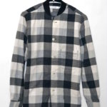 2017SS/ TRAINER SHIRT COTTON NEL BLOCK CHECK PRINT フランネル トレーナーシャツ